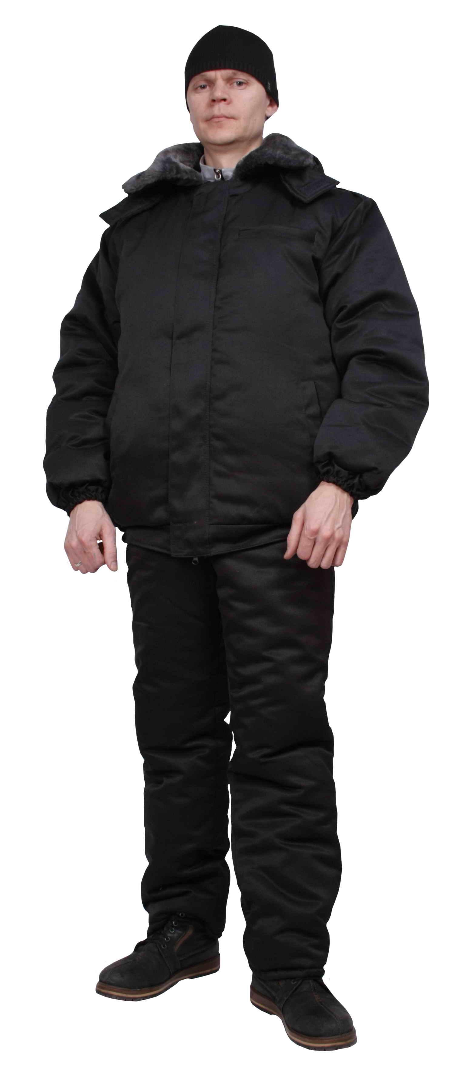 Куртка Охранника Зимняя Синяя Купить